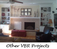 Other VBR Remodeling Projects: Family Rooms, Laundry Rooms, Decks, Fireplace Makeovers